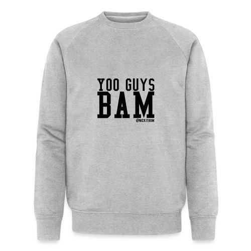 BAM! - Männer Bio-Sweatshirt