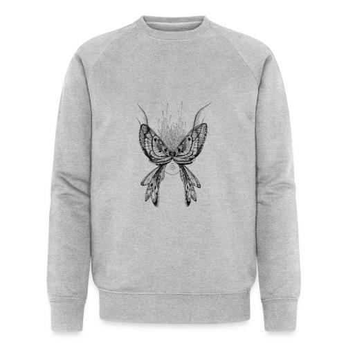 Nachtfalter - Männer Bio-Sweatshirt