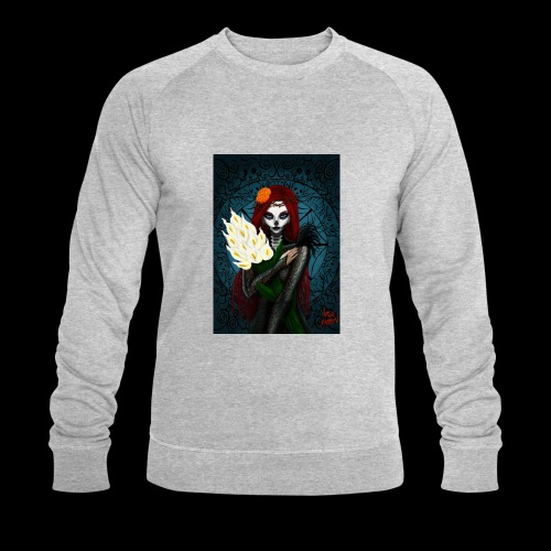 Death and lillies - Men's Organic Sweatshirt