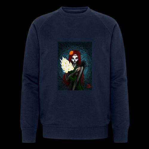 Death and lillies - Men's Organic Sweatshirt by Stanley & Stella