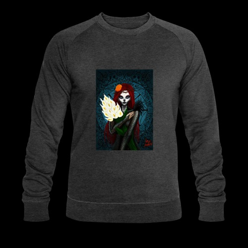 Death and lillies - Men's Organic Sweatshirt by Stanley & Stella