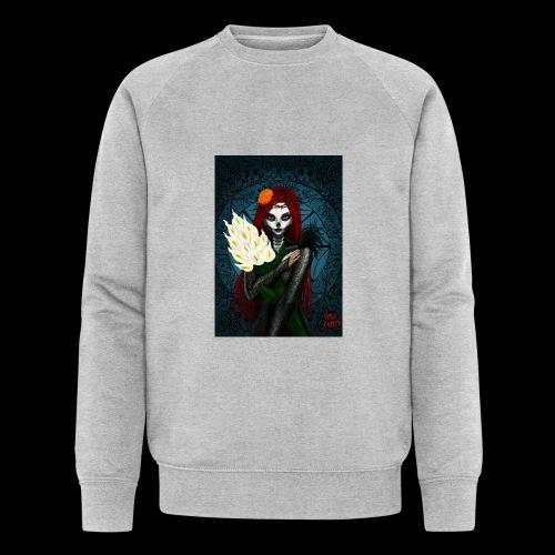 Death and lillies - Men's Organic Sweatshirt
