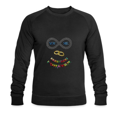 You and me Forever - Sweat-shirt bio Stanley & Stella Homme