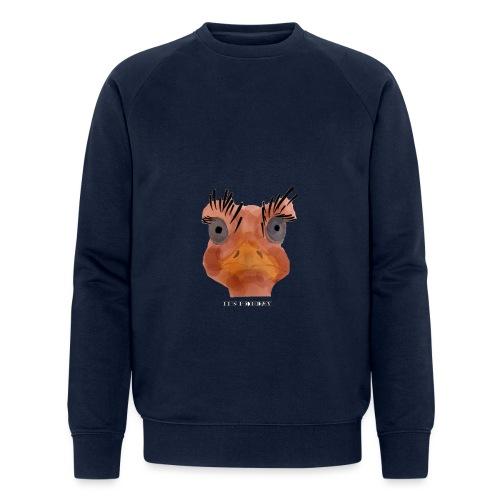 Srauss, again Monday, English writing - Men's Organic Sweatshirt by Stanley & Stella