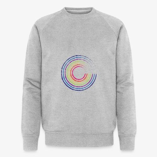 Circle rainbow - Felpa ecologica da uomo di Stanley & Stella