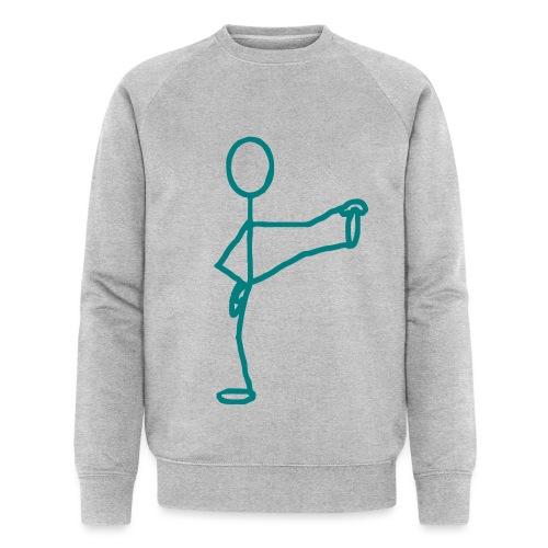 Yoga stickman - Sweat-shirt bio Stanley & Stella Homme