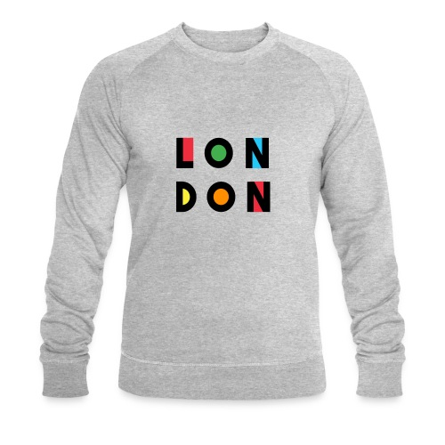 Vintage London Souvenir - Retro Modern Art London - Männer Bio-Sweatshirt von Stanley & Stella