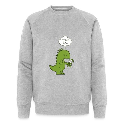 Bio-Dinosaurier - Männer Bio-Sweatshirt