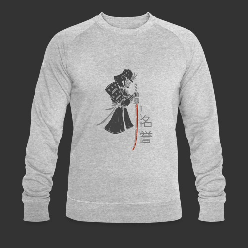 Samurai Digital Print - Men's Organic Sweatshirt by Stanley & Stella