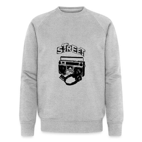 street 1 - Økologisk sweatshirt til herrer