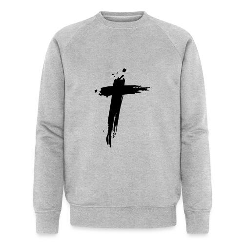 Cross - Mannen bio sweatshirt van Stanley & Stella