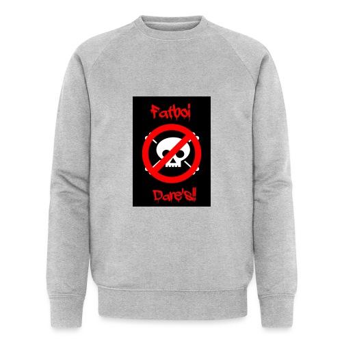 Fatboi Dares's logo - Men's Organic Sweatshirt by Stanley & Stella