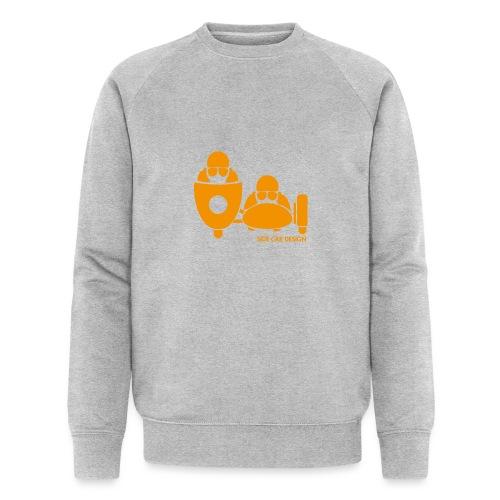 BASSET LOGO orange - Sweat-shirt bio