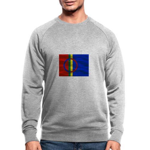 Sapmi flag - Økologisk sweatshirt for menn