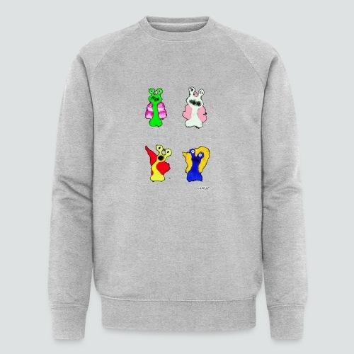 4 Snails 2 png - Männer Bio-Sweatshirt von Stanley & Stella