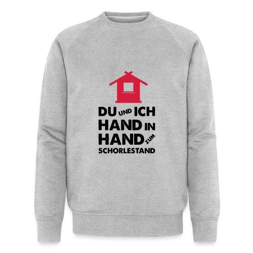Hand in Hand zum Schorlestand / Gruppenshirt - Männer Bio-Sweatshirt