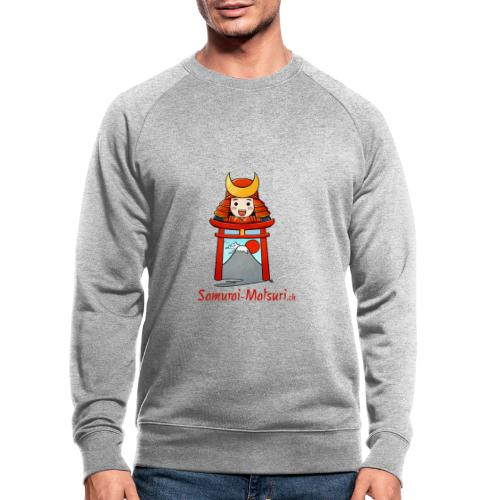 Samurai Matsuri Torii - Männer Bio-Sweatshirt