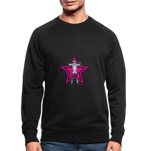 Hazy Logo - Männer Bio-Sweatshirt