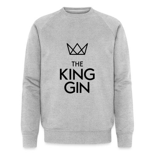 The King Gin Logo schwarz RGB - Männer Bio-Sweatshirt
