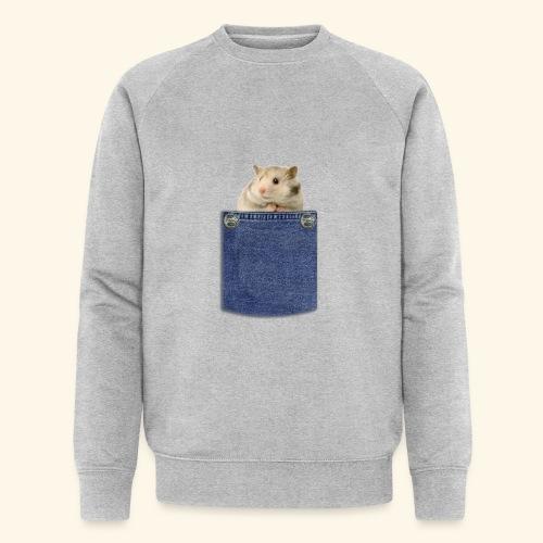 hamster in the poket - Felpa ecologica da uomo di Stanley & Stella