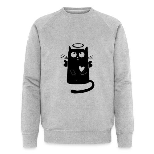 Katzengel - Männer Bio-Sweatshirt von Stanley & Stella