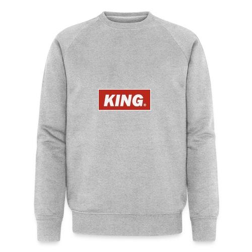 King, Queen, - Men's Organic Sweatshirt by Stanley & Stella