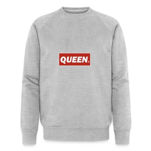 Queen, King - Men's Organic Sweatshirt by Stanley & Stella