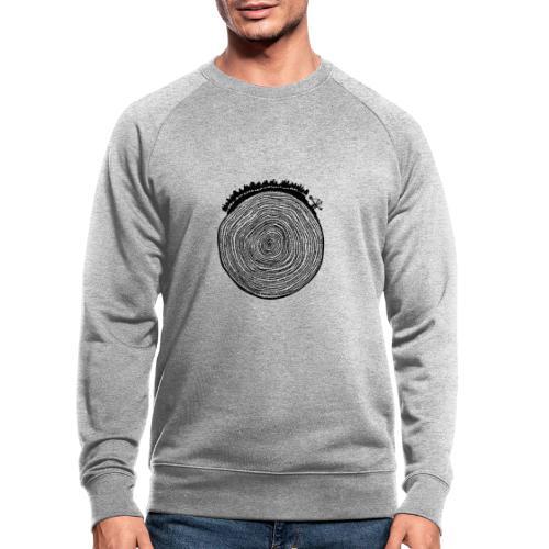 Kattoo Schwarz - Männer Bio-Sweatshirt