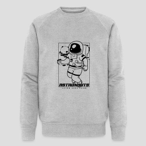 Astronauts loves Beerpong - Männer Bio-Sweatshirt von Stanley & Stella