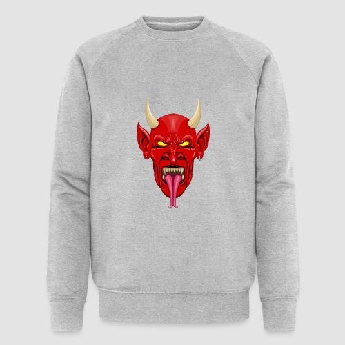 Devils Face Satans Army - Men's Organic Sweatshirt by Stanley & Stella