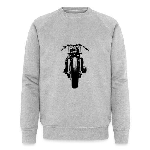 Motorcycle Front - Men's Organic Sweatshirt