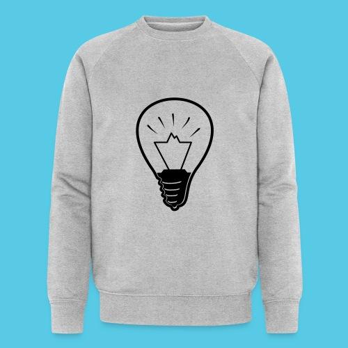 glühende Berge - Männer Bio-Sweatshirt von Stanley & Stella