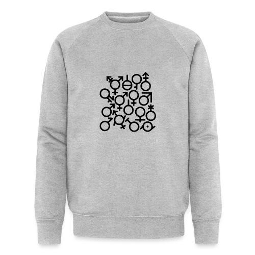 Multi Gender B/W - Mannen bio sweatshirt van Stanley & Stella