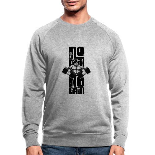 No Pain Logo Black (Stencil Version) - Sudadera ecológica hombre de Stanley & Stella