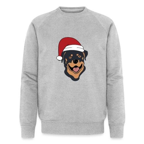 Weihnachtsmann Rottweiler - Männer Bio-Sweatshirt von Stanley & Stella