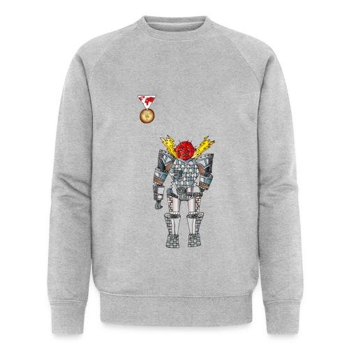 Trashcan - Männer Bio-Sweatshirt