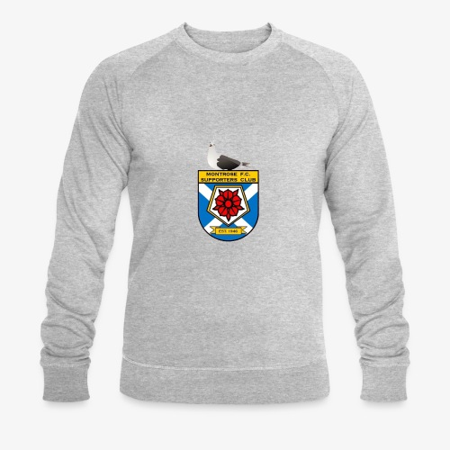 Montrose FC Supporters Club Seagull - Men's Organic Sweatshirt by Stanley & Stella