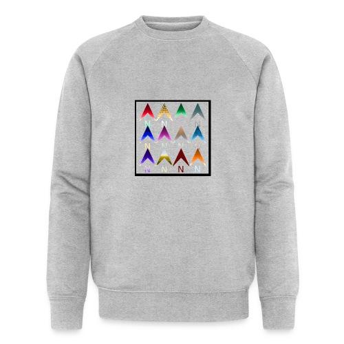 Noordpijlen - Mannen bio sweatshirt