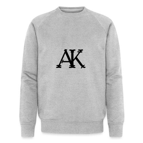Brand logo - Mannen bio sweatshirt