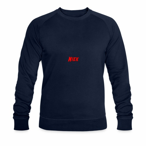 Niek Red - Mannen bio sweatshirt
