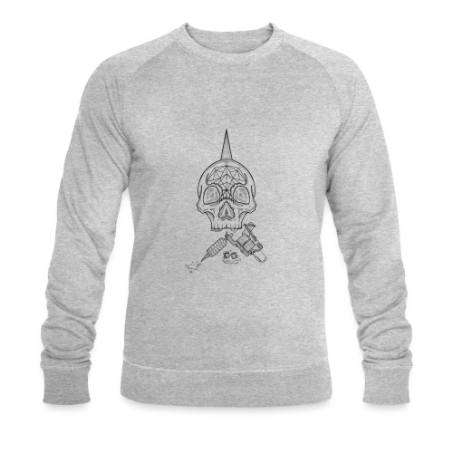Skull tattoo - Sweat-shirt bio Stanley & Stella Homme