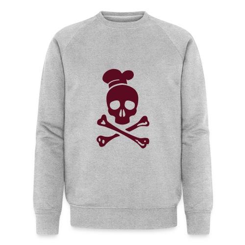 cannibal cook vector - Männer Bio-Sweatshirt