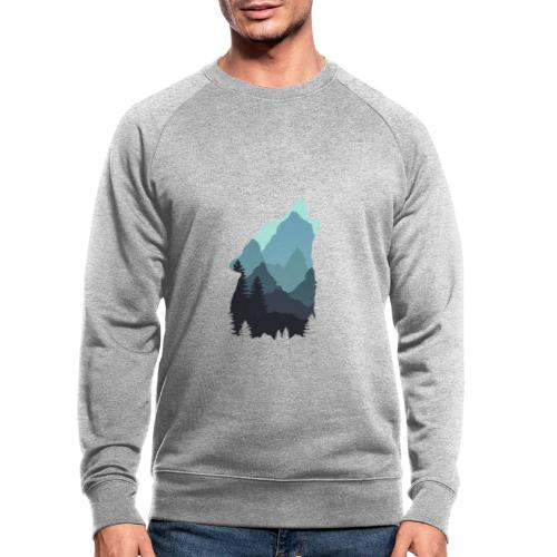 Wolf - Men's Organic Sweatshirt