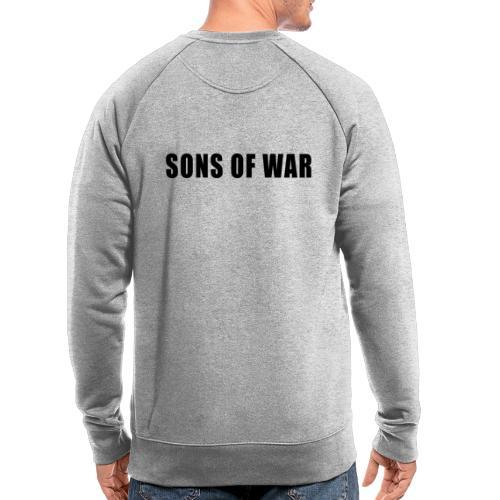 Tekst - Økologisk sweatshirt til herrer