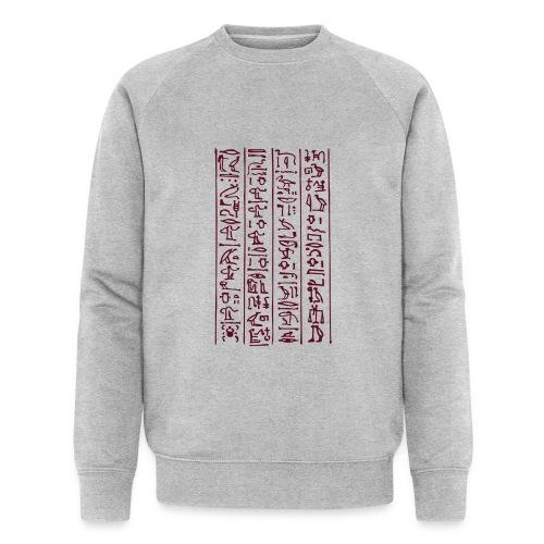 Hieroglyphen - Männer Bio-Sweatshirt von Stanley & Stella