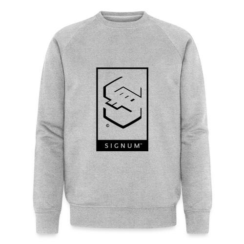 signumGamerLabelBW - Men's Organic Sweatshirt by Stanley & Stella