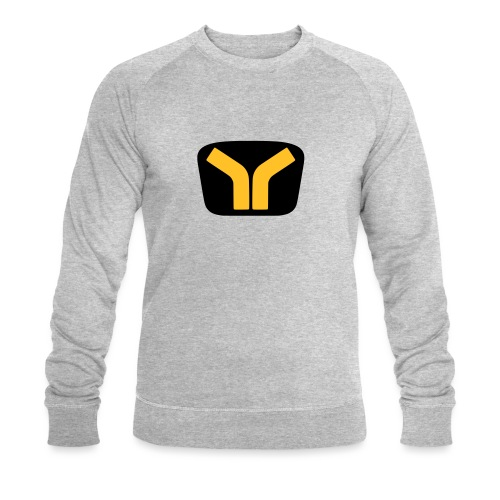 Yugo logo colored design - Men's Organic Sweatshirt by Stanley & Stella