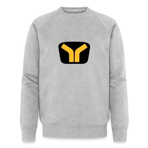 Yugo logo colored design - Men's Organic Sweatshirt