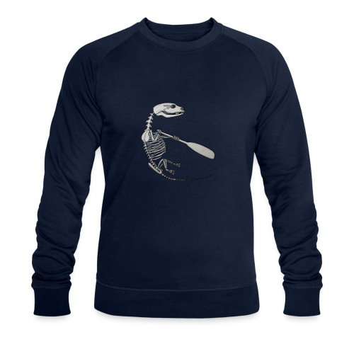 Skeleton Quentin - Men's Organic Sweatshirt by Stanley & Stella