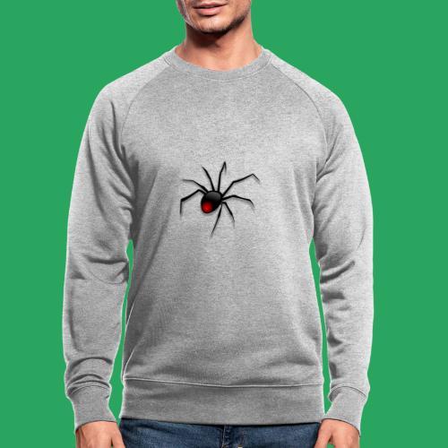 spider logo fantasy - Felpa ecologica da uomo